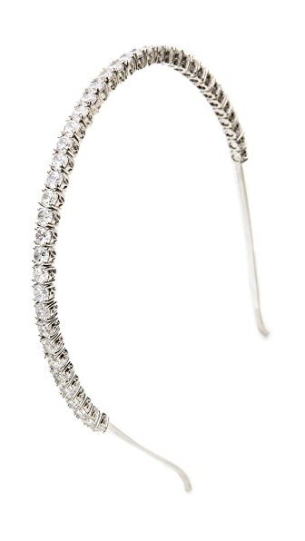 Kenneth Jay Lane Crystal Headband