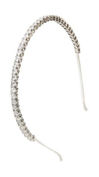 Kenneth Jay Lane Crystal Headband