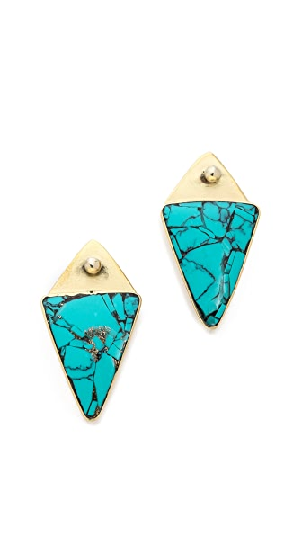 Karen London Desert Moon Stud Earrings