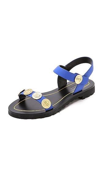 Kenzo Kenzo Legione Penny Sandals (Blue)