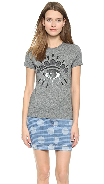 Kenzo Kenzo Eye Embellished Tee (Multicolor)