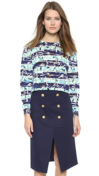 Kenzo Kenzo Fancy Pullover Sweater (Blue)