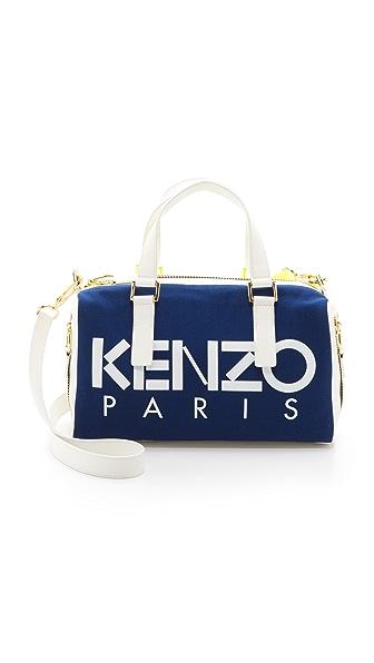 Kenzo Kenzo Kanvas Speedy Bag (Blue)