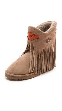 Koolaburra Haley Deco Fringe Booties
