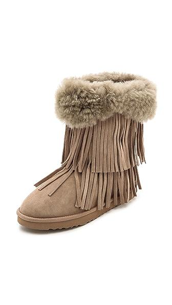 Ботинки Hayley II Koolaburra. Цвет: грецкий орех
