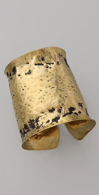 Kora Forged Brass Cuff