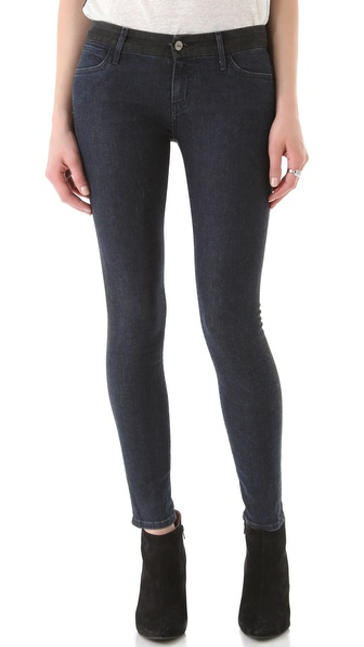 KORAL Coated Colorblock Skinny Jeans