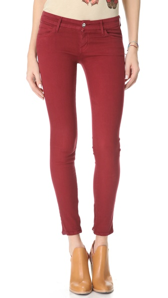 KORAL Low Rise Zip Skinny Jeans