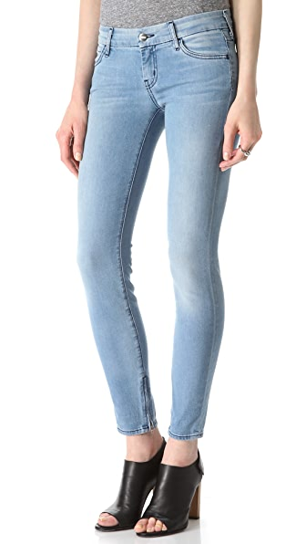 KORAL Zip Ankle Skinny Jeans