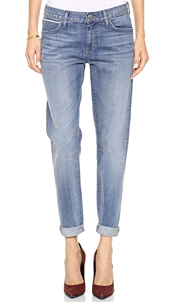 KORAL Relaxed Skinny Jeans with Double Roll