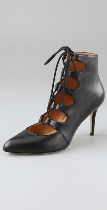 KORS Michael Kors Sandra High Heel Booties