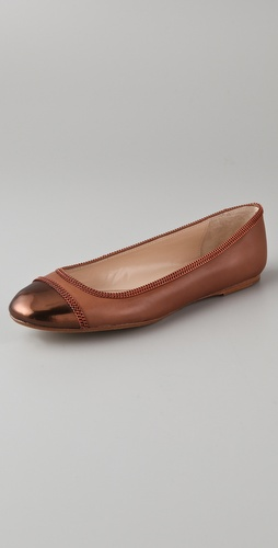 KORS Michael Kors Otley Cap Toe Flats