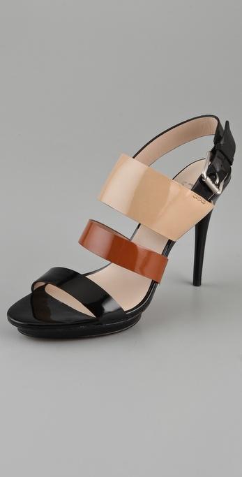 KORS Michael Kors Lizzie High Heel Sandals