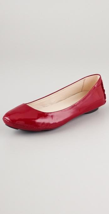 KORS Michael Kors Odette Patent Ballet Flats