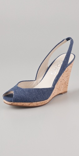KORS Michael Kors Vivian Sling Back Cork Sandals
