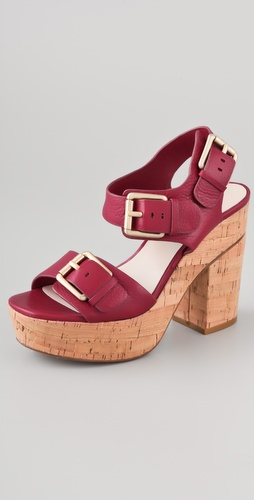 KORS Michael Kors Newman Buckle Sandals