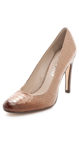 KORS Michael Kors Glitter Snakeskin Pumps