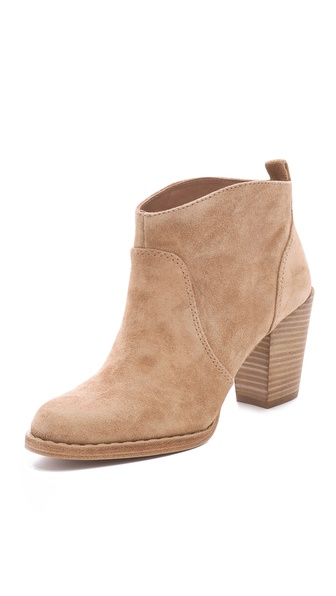 KORS Michael Kors Wayland Suede Booties