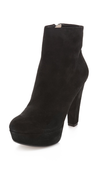 KORS Michael Kors Kaelin Suede Booties