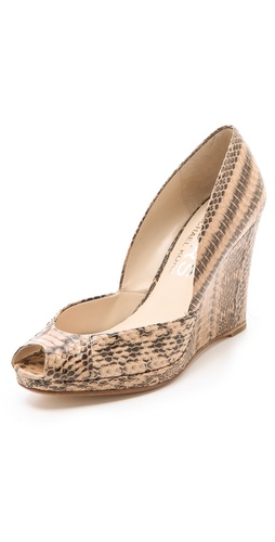 KORS Michael Kors Vail Wedge Pumps at Shopbop.com