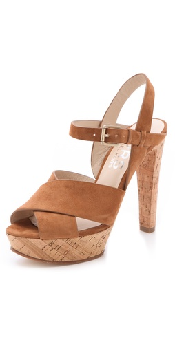 Shop KORS Michael Kors Adair Cork Sandals - KORS Michael Kors online - Footwear,Womens,Footwear,Sandals, at Lilychic Australian Clothes Online Store