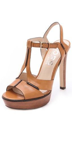 Shop KORS Michael Kors Brookton Platform Sandals - KORS Michael Kors online - Footwear,Womens,Footwear,Sandals, at Lilychic Australian Clothes Online Store