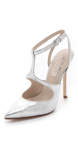 KORS Michael Kors Adrielle Pointed Toe Pumps at Shopbop.com
