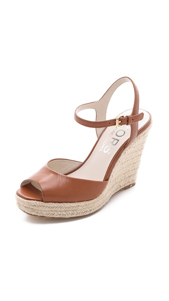 KORS Michael Kors Valora Wedge Sandals