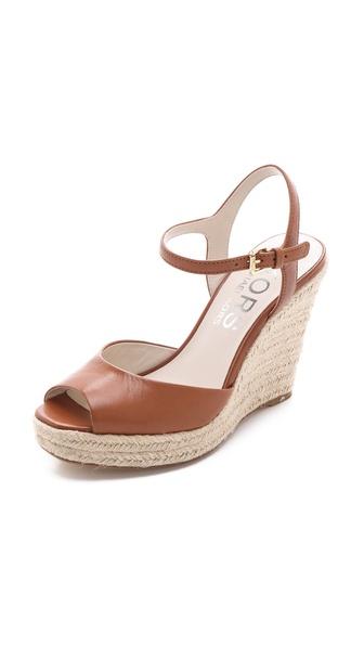 KORS Michael Kors Valora Wedge Sandals