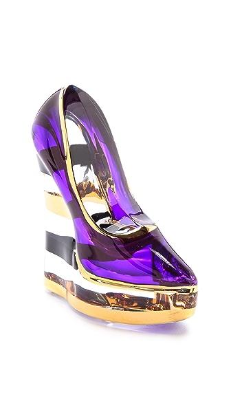 Kosta Boda Stripe Shoe Paperweight
