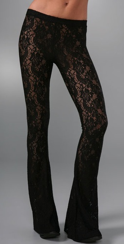 Kova & T Lace Bell Bottoms