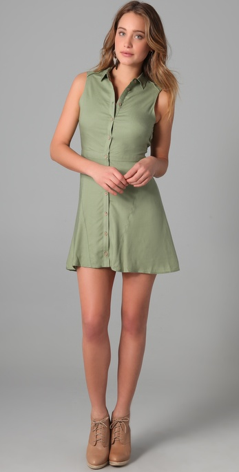 Kova & T Ari Shirtdress