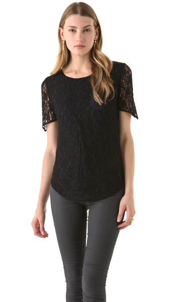 Kova & T Jenna Lace Top