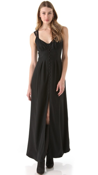 Kova & T Garland Maxi Dress