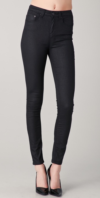 Ksubi Hi And Waisted Skinny Jeans