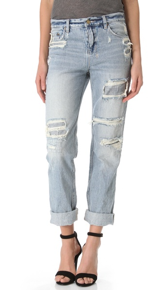 Ksubi Boyfriend Jeans