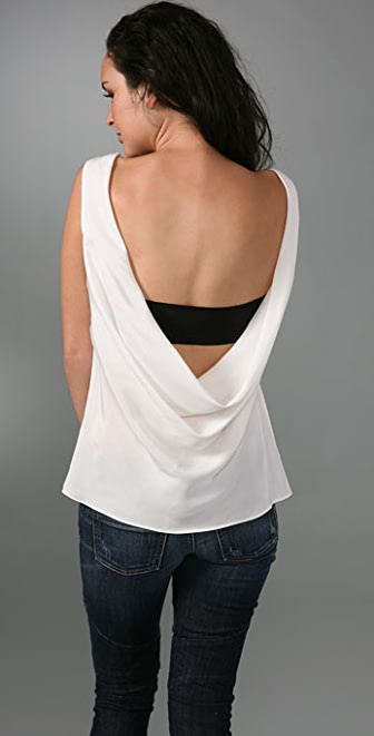 Kimberly Taylor Drape Back Top