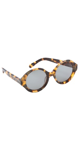 Shop Karen Walker Number Six Sunglasses and Karen Walker online - Accessories,Womens,Sunglasses,Other, online Store