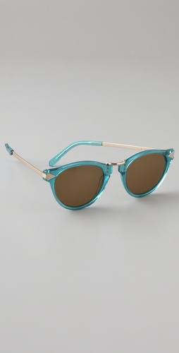 Karen Walker Limited Edition Helter Skelter Sunglasses
