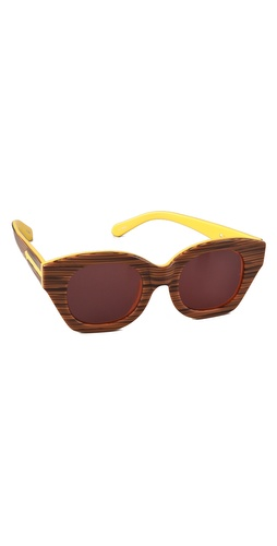 Shop Karen Walker Soul Club Sunglasses and Karen Walker online - Accessories,Womens,Sunglasses,Other, online Store