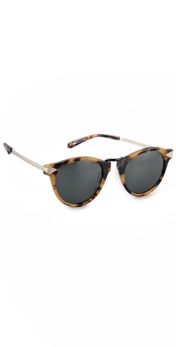 Karen Walker Helter Skelter Sunglasses