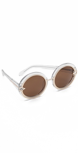 Karen Walker Orbit Sunglasses at Shopbop.com
