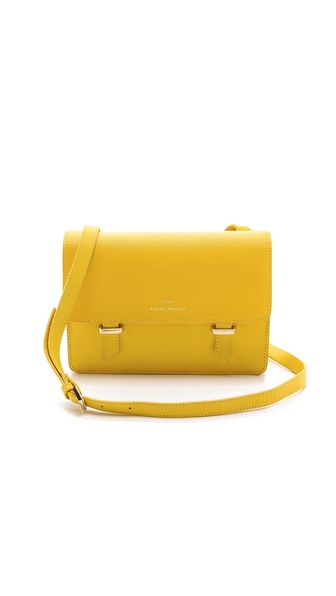 Karen Walker Benah for Karen Walker Sloane Mini Satchel