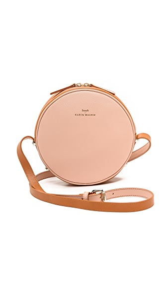 Karen Walker Marion Mini Round Bag