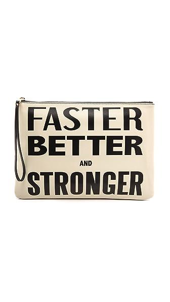 Karen Walker Faster Better and Stronger Clutch