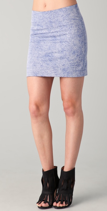 Kelly Wearstler Craft Miniskirt