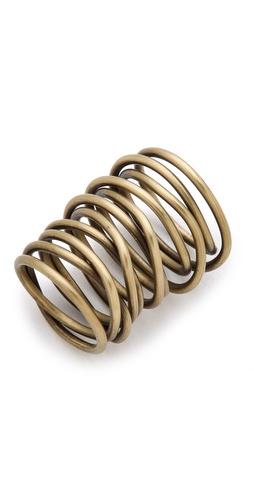 Kelly Wearstler Twisted Brass Ring