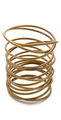 Kelly Wearstler Twisted Brass Bracelet
