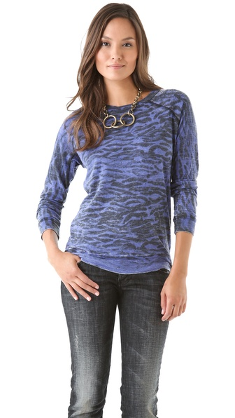 Kelly Wearstler Idol Burnout Top