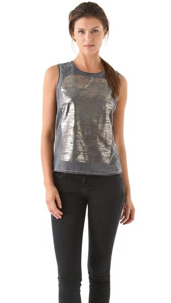 Kelly Wearstler Venice Foiled Tank